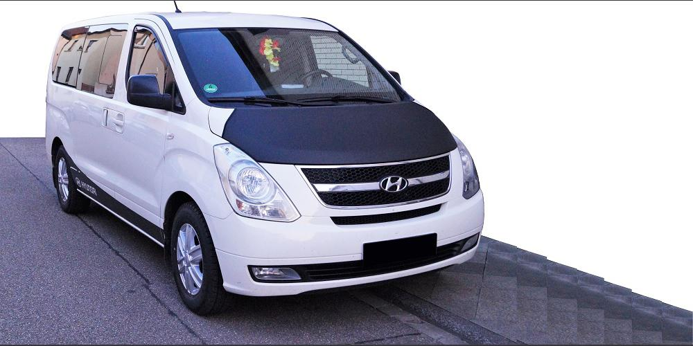 car bra chip protection for hyundai h 1 travel gargo tuning ebay. Black Bedroom Furniture Sets. Home Design Ideas